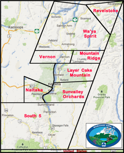 Monashee Districts